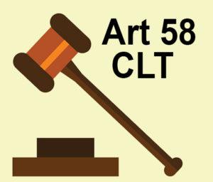 Art 58 CLT